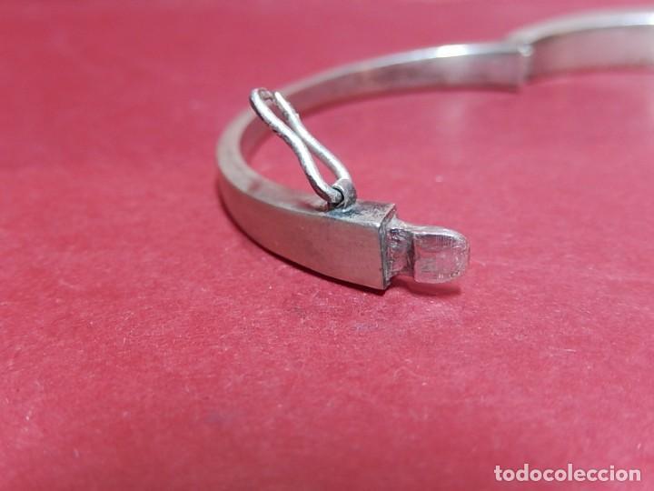 Joyeria: Brazalete / pulsera. Oro, plata y hueso. - Foto 8 - 141348758