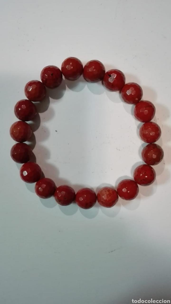f738218b8334 Preciosa pulsera de agata cornalina facetada - Sold at Auction ...