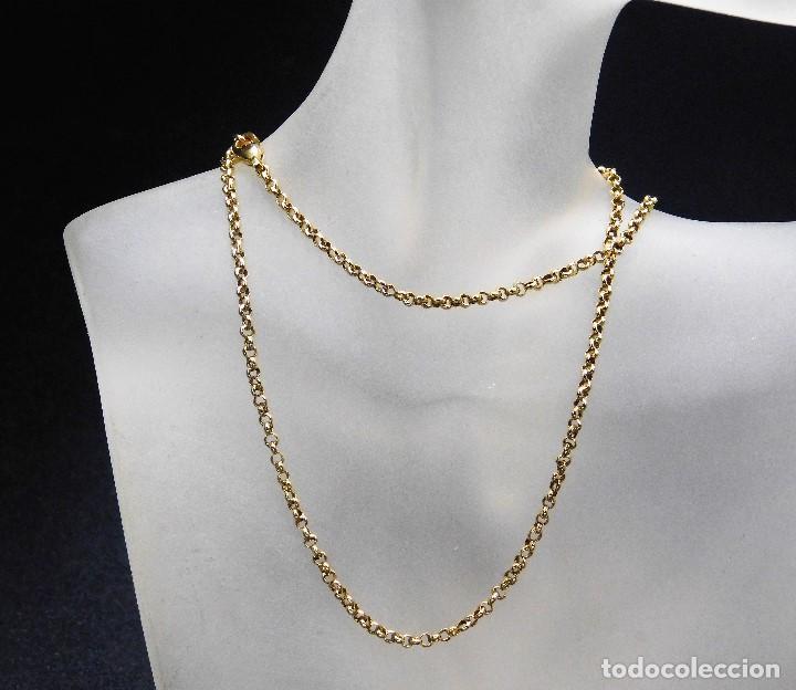 0d0887be234 bonita cadena oro 18k - Comprar Cadenas Antiguas en todocoleccion ...