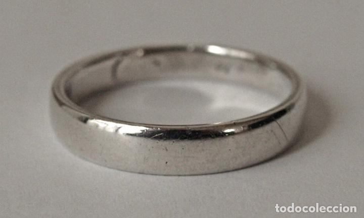 d77d9e81b271 anillo de plata de ley tipo alianza. nº aniller - Comprar Anillos ...
