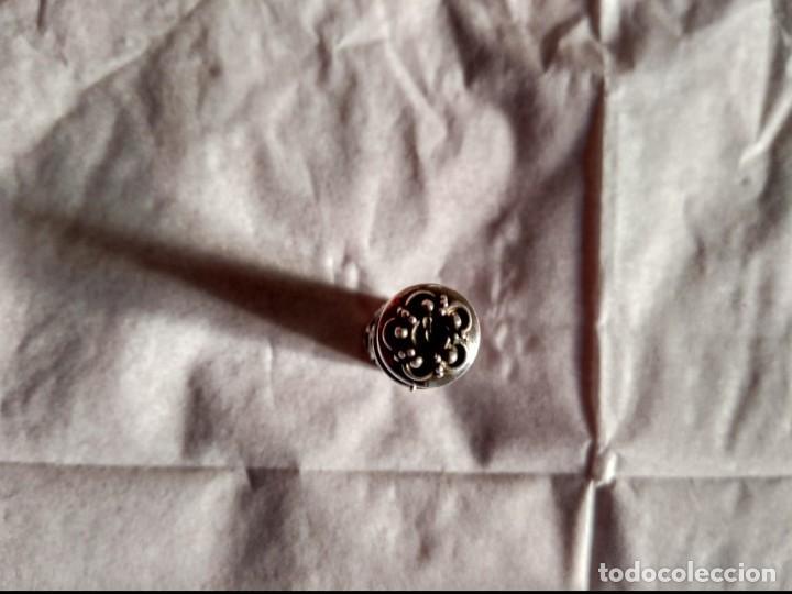 Joyeria: estuche capsula plata 925 con bella decoracion - Foto 3 - 142298386