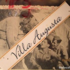 Joyeria: TENIENTES DOMINGUEZ ALVAREZ ALFEREZ ROMERO CAMPAMENTO BATALLA SEGRE CATALUÑA 29 IX 1938 GUERRA CIVIL. Lote 142316686