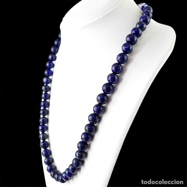 Joyeria: Fabuloso collar para mujer de lapis lazuli 455 ct - Foto 2 - 142399194