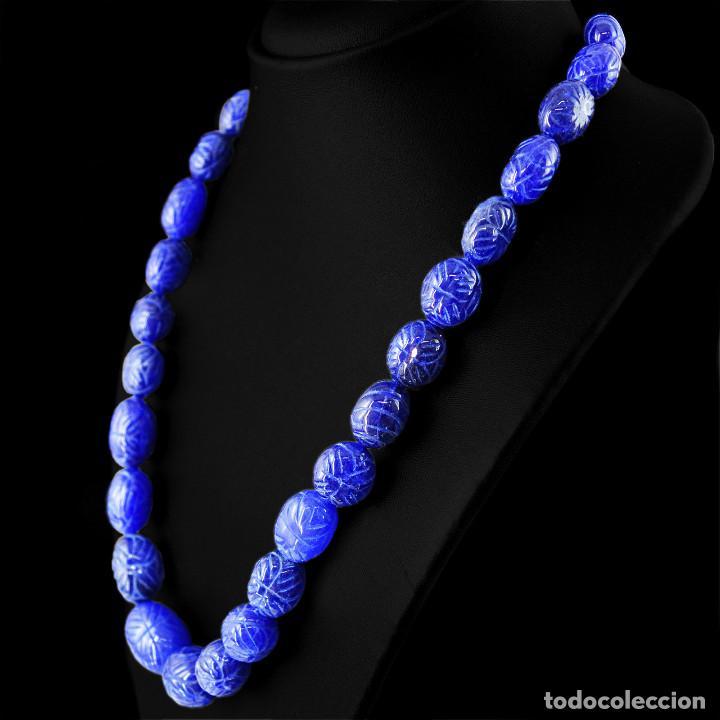 Joyeria: Fabuloso collar para mujer de zafiro 498 ct - Foto 2 - 142406634