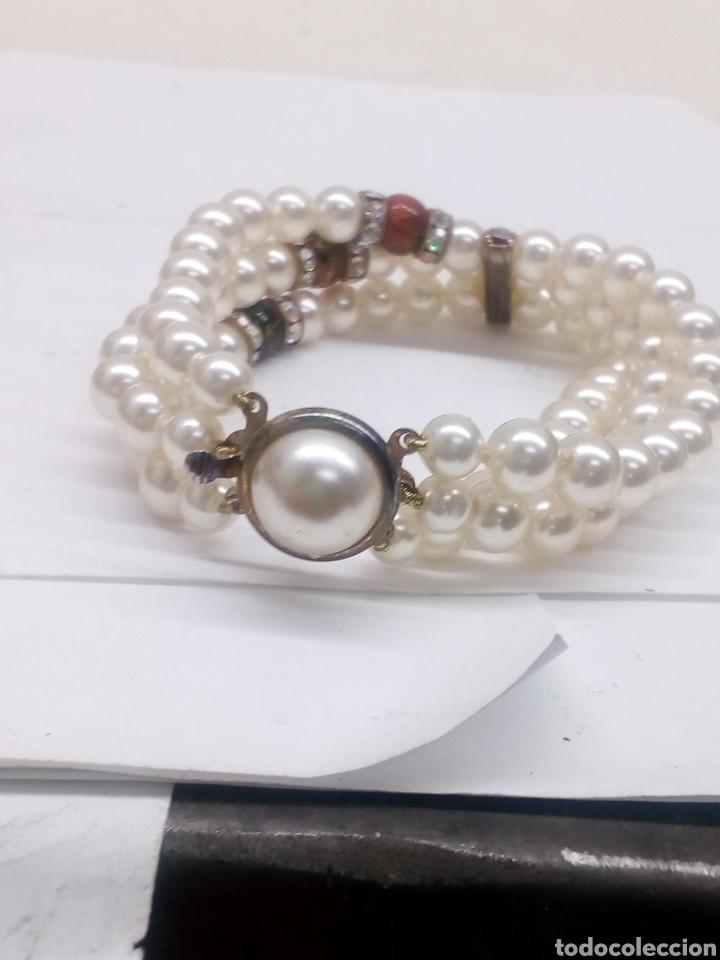 Joyeria: Pulsera de perlas bisutería - Foto 3 - 142411580