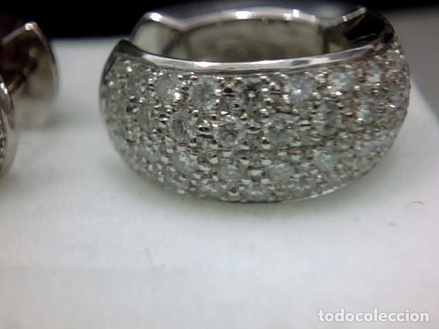 Joyeria: pendientes oro 18 kl y diamantes - Foto 4 - 142505382