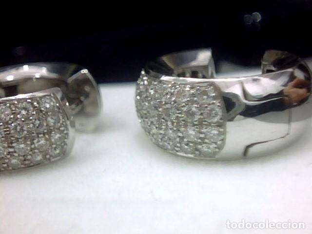 Joyeria: pendientes oro 18 kl y diamantes - Foto 5 - 142505382