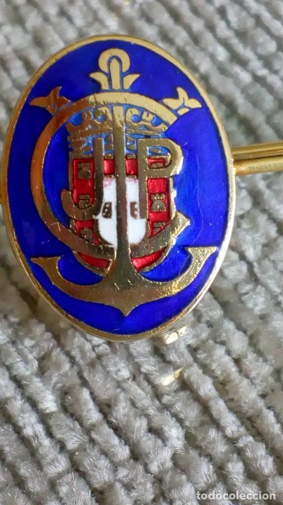 Joyeria: Dos broches compañeros con escudo e iniciales - Foto 5 - 142831418