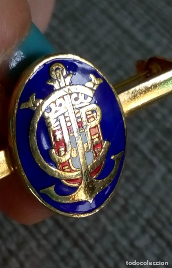 Joyeria: Dos broches compañeros con escudo e iniciales - Foto 9 - 142831418