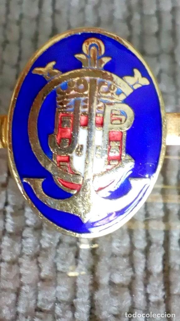 Joyeria: Dos broches compañeros con escudo e iniciales - Foto 10 - 142831418