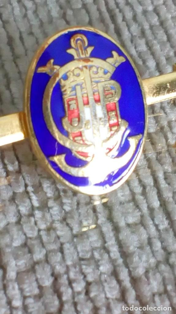 Joyeria: Dos broches compañeros con escudo e iniciales - Foto 11 - 142831418