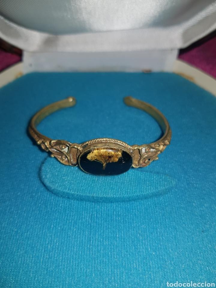 Joyeria: Antiguo brazalete de bronce - Foto 2 - 143009366