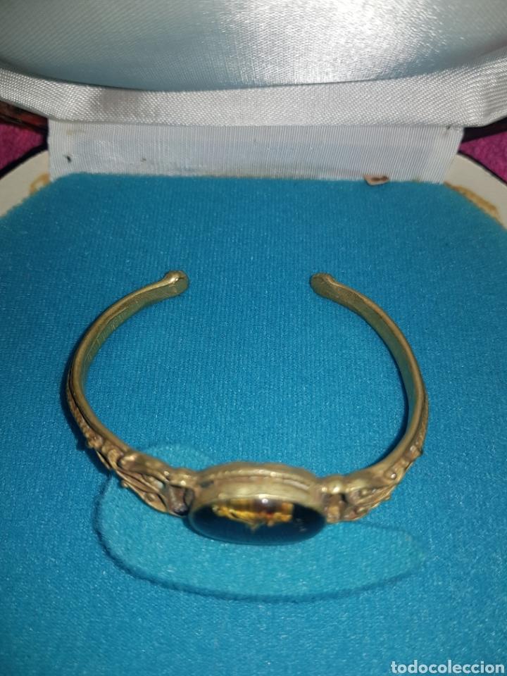 Joyeria: Antiguo brazalete de bronce - Foto 3 - 143009366