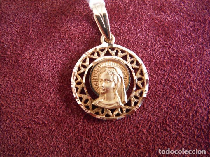 ec0d051af765 medalla virgen niña oro 18k - Buy Antique Pendants at todocoleccion ...