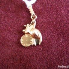 Jewelry - MEDALLA NACIMIENTO CON CIGUEÑA Y RELOJ ORO 18K - 143090074