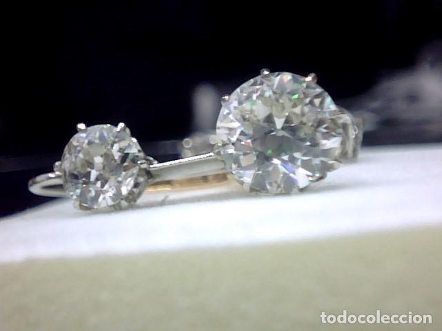 Joyeria: pendientes oro 18 kl y diamantes - Foto 8 - 143689002