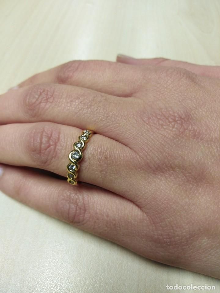 Joyeria: Anillo Diamantes y Oro de Ley 18k - Foto 10 - 172570868