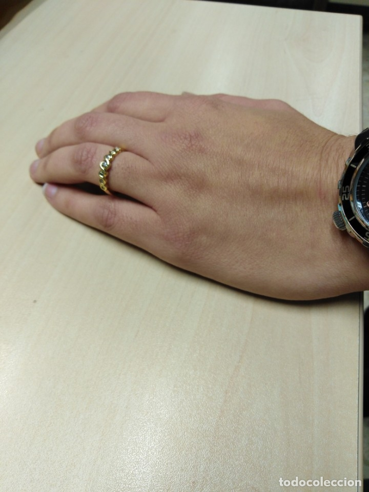 Joyeria: Anillo Diamantes y Oro de Ley 18k - Foto 11 - 172570868