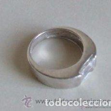 Joyeria: == J50 - ANILLO DE PLATA CON CIRCONITA - TALLA 15. Lote 145142938