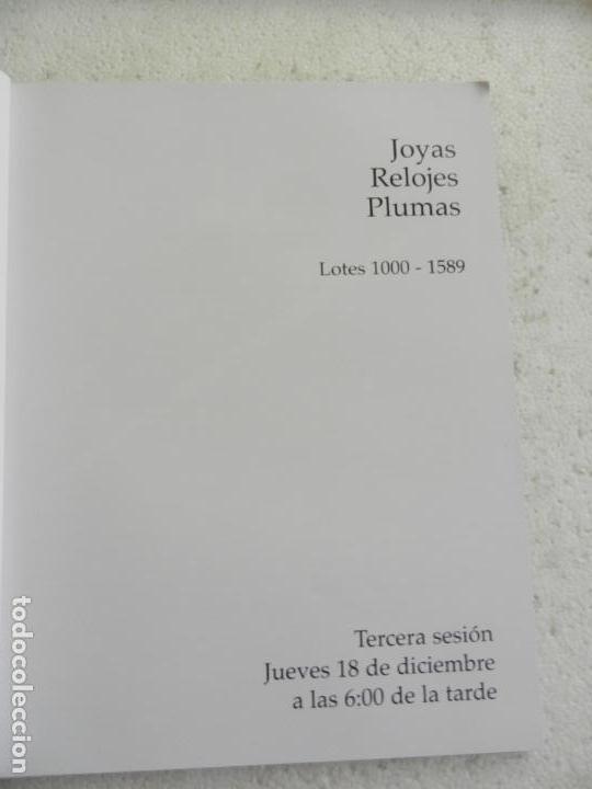 Joyeria: SUBASTAS SEGRE - SUBASTA JOYAS, RELOJES Y PLUMAS DICIEMBRE 2014 - Foto 3 - 145877386