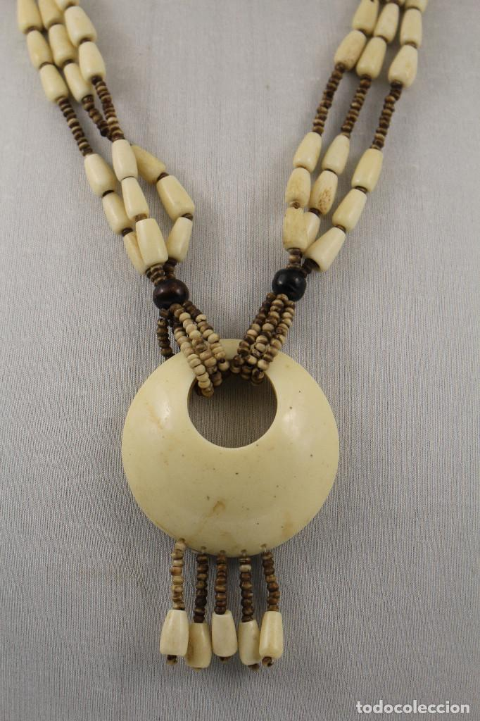 a3749df8e86e collar de hueso - Comprar Collares Antiguos en todocoleccion - 161062744
