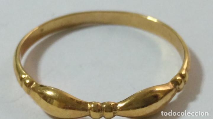 Joyeria: antiguo anillo chapado en oro piedras - nunca usado perteneciente a stock de antigua joyeria cadiz - Foto 7 - 146505146