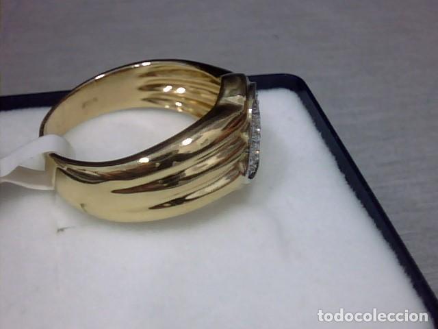 Joyeria: anillo oro 18 kl y diamantes - Foto 5 - 146868210