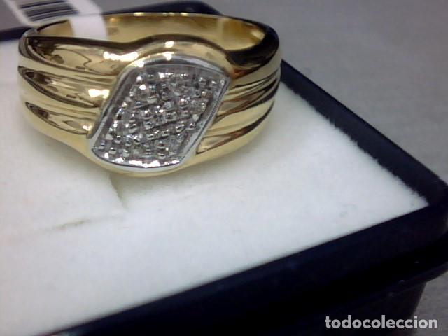Joyeria: anillo oro 18 kl y diamantes - Foto 6 - 146868210