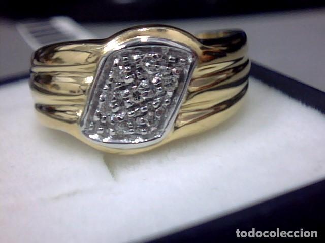 Joyeria: anillo oro 18 kl y diamantes - Foto 7 - 146868210