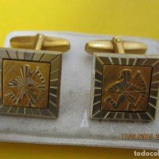 Joyeria: ANTIGUOS BONITOS GEMELOS DE LOS AÑOS 60/70. Lote 147431874