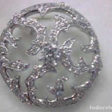Jewelry - colgante oro blanco 18 kl y diamantes - 147460246