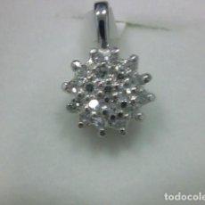 Jewelry - colgante oro blanco 18 kl y diamantes - 147517886