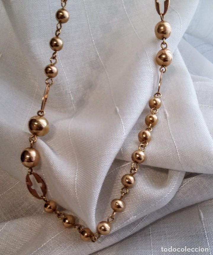 c203a73f1a45 preciosa cadena de oro larga de 90 cm y peso 36 - Comprar Cadenas ...