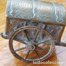 Joyeria: PIEZA EXCLUSIVA AVERYS. SINGULAR CARRO CARRITO PORTA AGUJAS M. AVERY AND SON REDDITCH. Lote 147583250