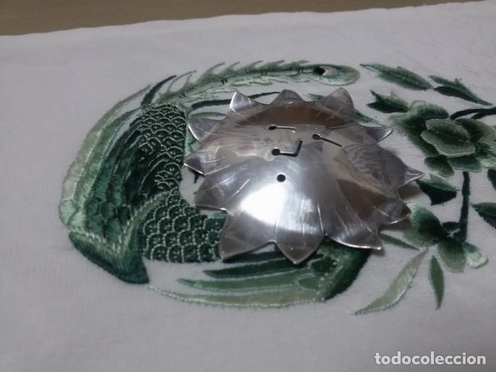 Joyeria: BROCHE DE PLATA EN FORMA DE SOL - Foto 3 - 147710398