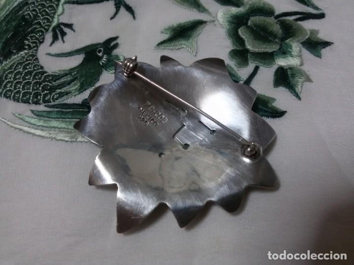 Joyeria: BROCHE DE PLATA EN FORMA DE SOL - Foto 6 - 147710398
