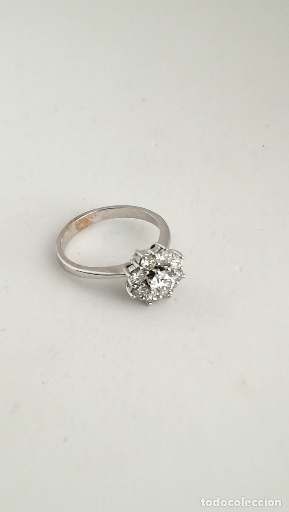 Joyeria: Anillo Vintage Oro 18k y Diamantes - Foto 7 - 141234526