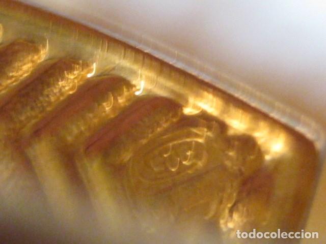 Joyeria: DE PLATA LEY 925, DETALLES ORO ANILLO SORTIJA AJUSTABLE VINTAGE SIN USO CIRCONITAS TIPO BRILLANTE - Foto 2 - 149112470