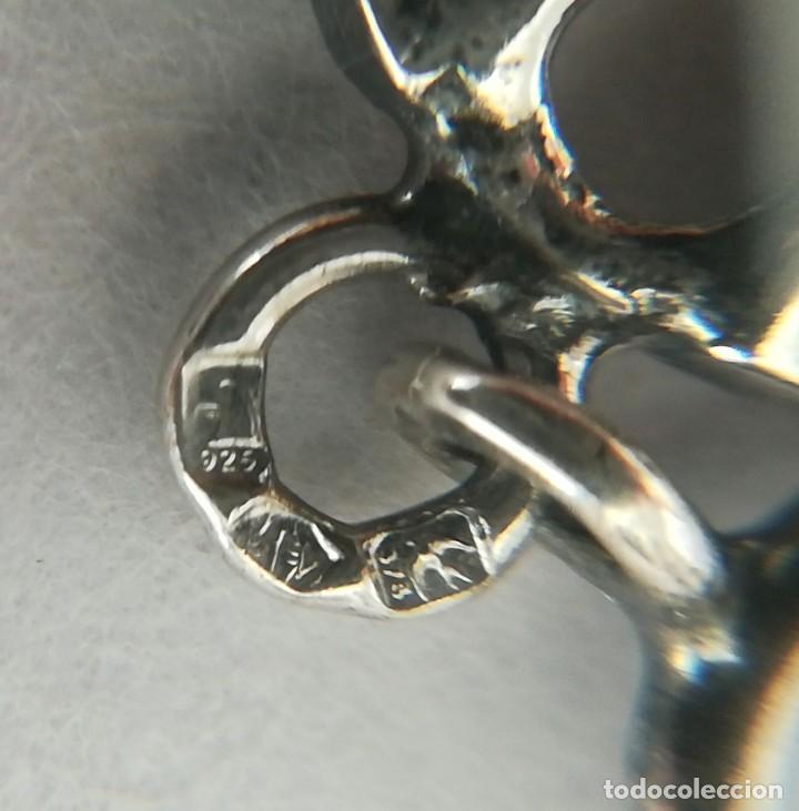 Joyeria: pulsera de plata con inversiones en oro y marcasita - Foto 4 - 149968686
