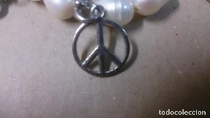 Joyeria: Pulsera perlas de Río, cristal y diges - Foto 3 - 150386502