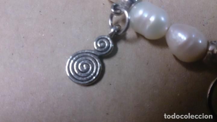 Joyeria: Pulsera perlas de Río, cristal y diges - Foto 4 - 150386502