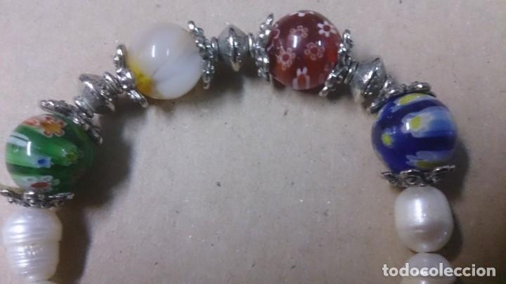 Joyeria: Pulsera perlas de Río, cristal y diges - Foto 5 - 150386502