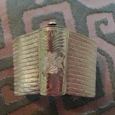 Jewelry - Brazalete de plata de ley, cincelado con motivos florales. - 150545665