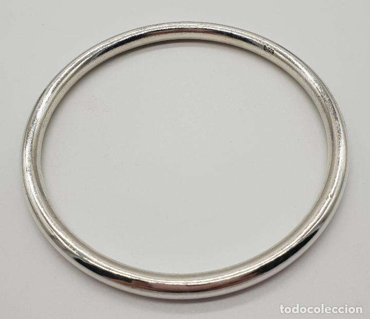 Joyeria: Brazalete vintage en plata de ley contrastada . - Foto 3 - 150574562