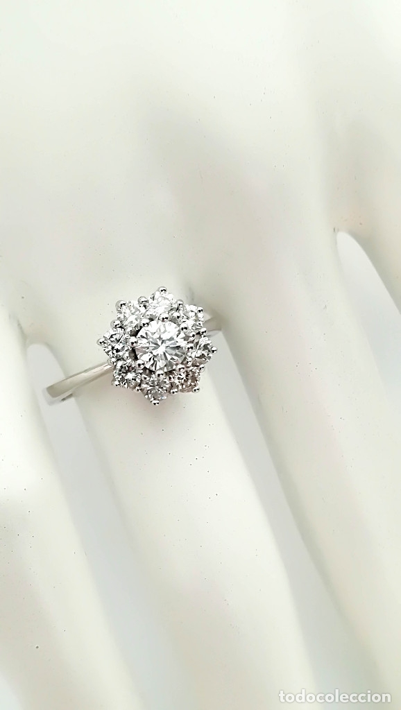 Joyeria: Anillo Vintage Oro 18k y Diamantes - Foto 4 - 141234526