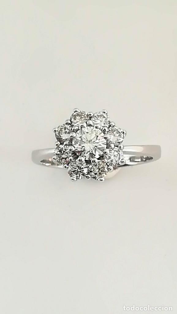 Joyeria: Anillo Vintage Oro 18k y Diamantes - Foto 5 - 141234526
