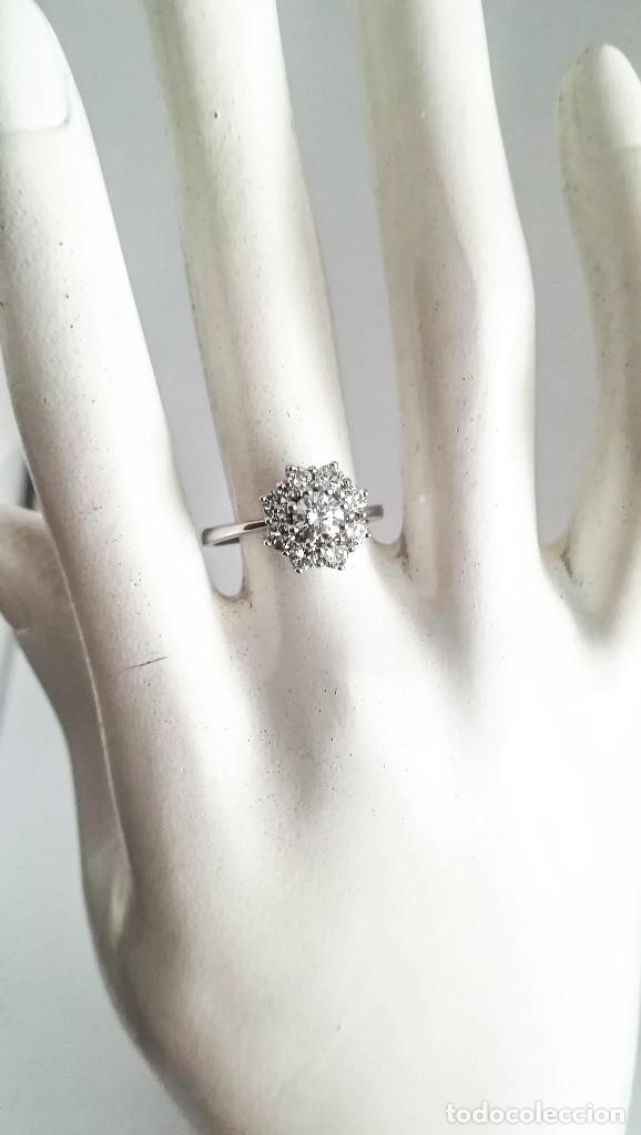 Joyeria: Anillo Vintage Oro 18k y Diamantes - Foto 3 - 141234526