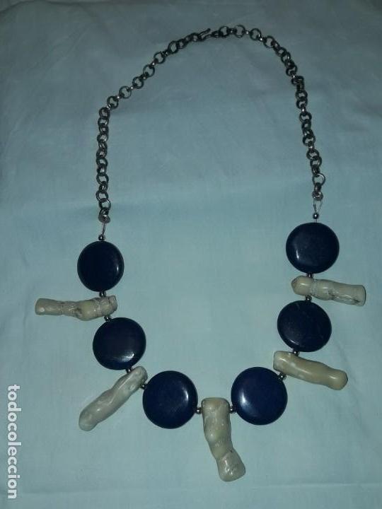Joyeria: Precioso collar de lapislázuli y coral blanco - Foto 6 - 150940066