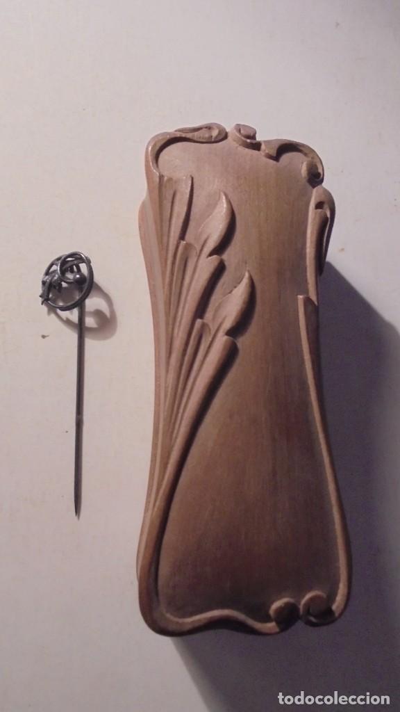 Joyeria: RAMON TEIXÉ 1905-1910 - ANTIGUA AGUJA DE CORBATA REALIZADA EN FORJA , HIERRO , MODERNISTA , CON SU C - Foto 6 - 150951938