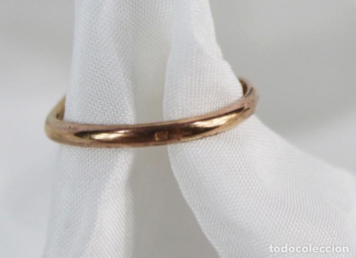 Joyeria: Anillo 1900 antiguo remanente de joyería piezas con contraste oro bajo o chapado - Foto 2 - 151356522